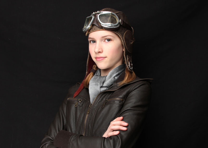 cies girl aviator